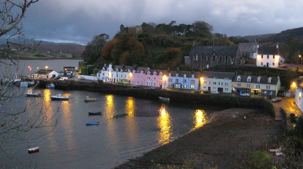 Portree at Dusk - Isle of Skye, Scotland.
