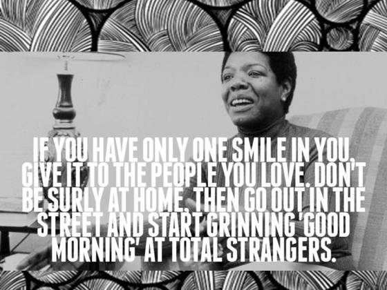 Give Your Best Self to Your Family. Ten Life Lessons We Can Learn From Maya Angelou http://wp.me/p41CQf-ax