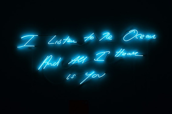Tracey Emin. About Neon Art and Loneliness http://wp.me/p41CQf-aU