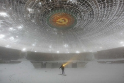 Otherworldly Abandoned Soviet Monuments Building in Buzludzha Bulgaria