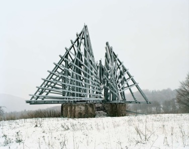 Otherworldly Abandoned Soviet Monuments: Monument in Korenica