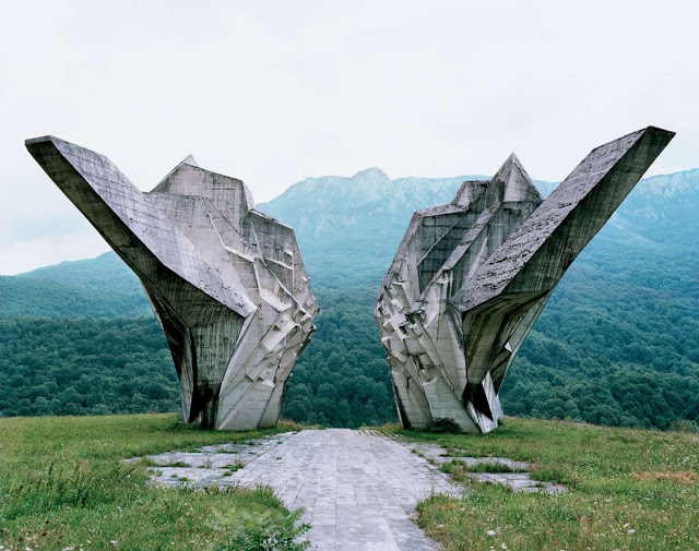 Otherworldly Abandoned Soviet Monuments: Tjentište
