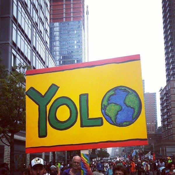 The Earth Only Lives Once: Climate Change Protests Happening Right Now