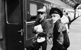 David Bowie and Iggy Pop in Berlin