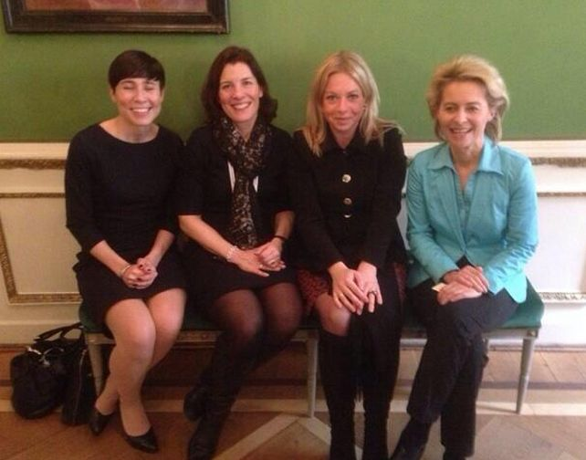 The Defence Ministers of Sweden, Norway, the Netherlands and Germany