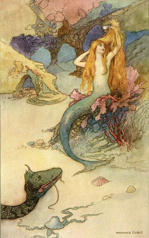 The story of a mysterious mermaid in Milford Haven 1795 A.D.