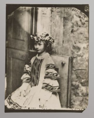 The real Alice, photographed by Lewis Carroll.