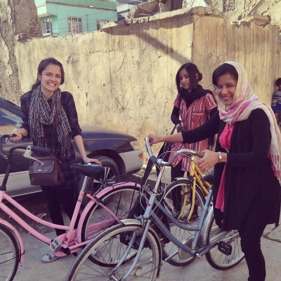 Every Picture Tells A Story: Girls and women cycling in Kabul