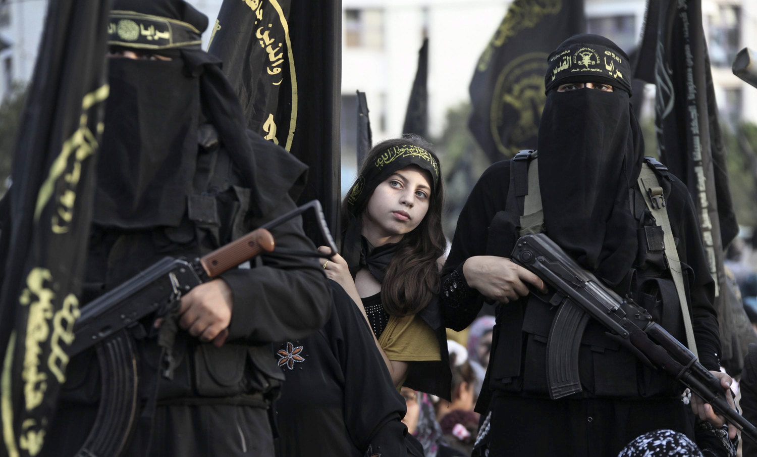 Every Picture Tells A Story: Young Girl In ISIS