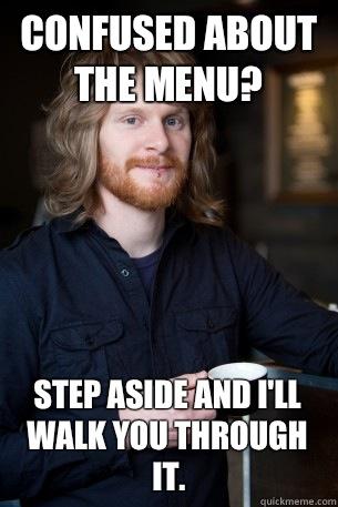 Hipster menu generator: get ready for culinary darts of displeasure