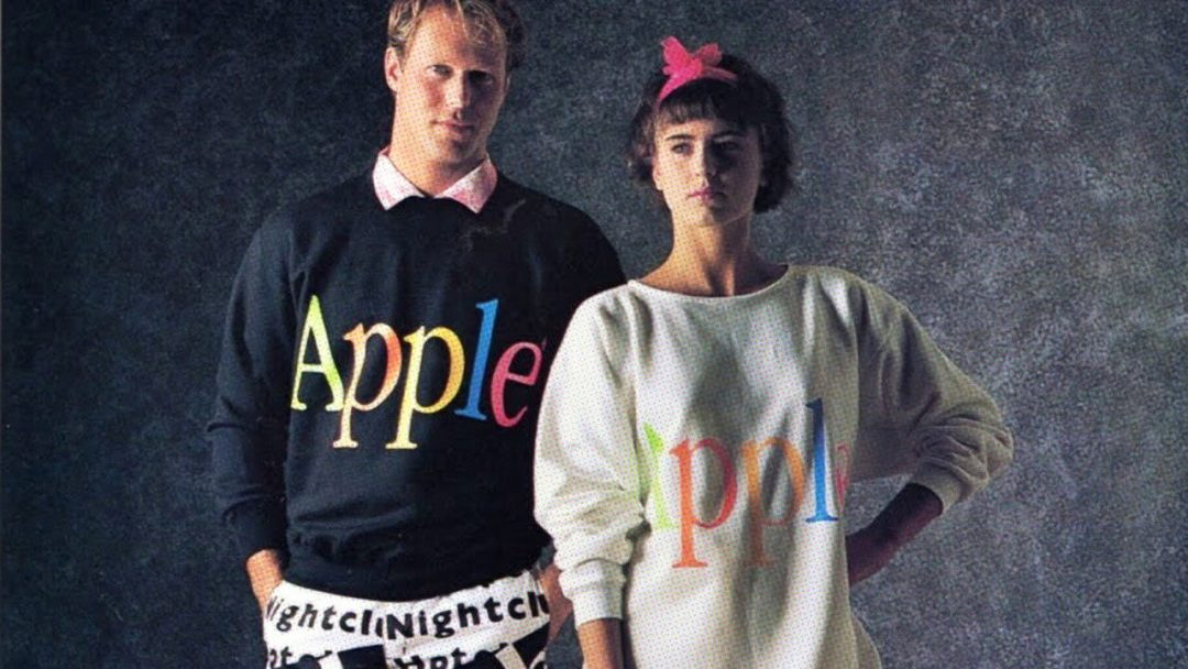 Every Picture Tells A Story: Apple Clothing, Circa 1984