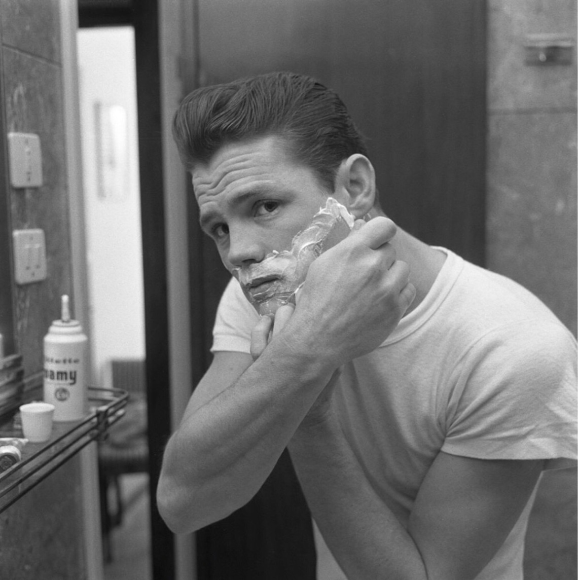 Chet Baker Shaving (1961)