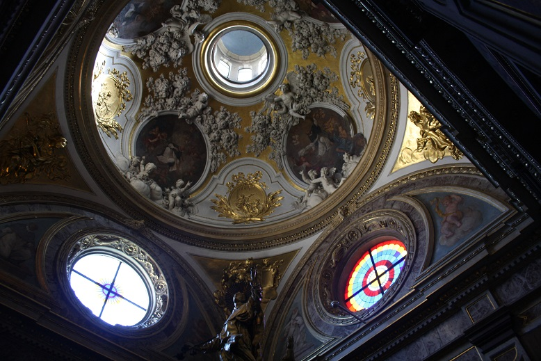 Celestial ceilings and soaring skies in Poland