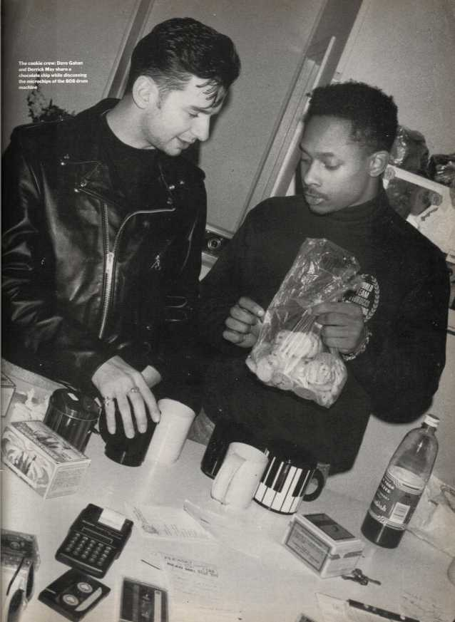 Every Picture Tells A Story: When Depeche Mode met Derrick May in Detroit in 1989