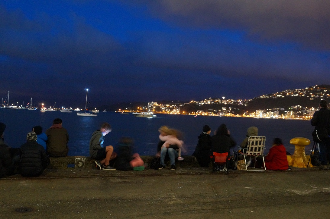 Windy Wellington shows her pretty side on Guy Fawkes Night