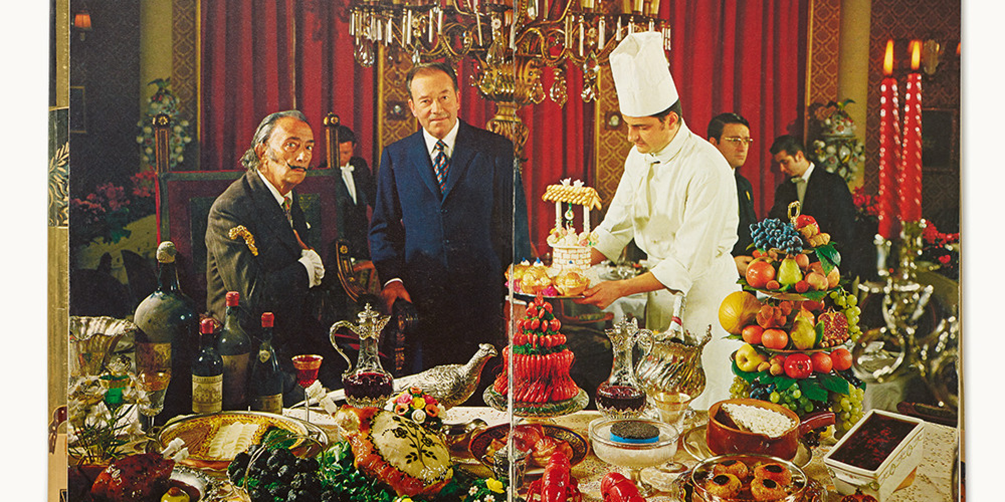 Book Review: 'Les Diners de Gala' Salvadore Dali's delectable and twisted psychedelic cook-book