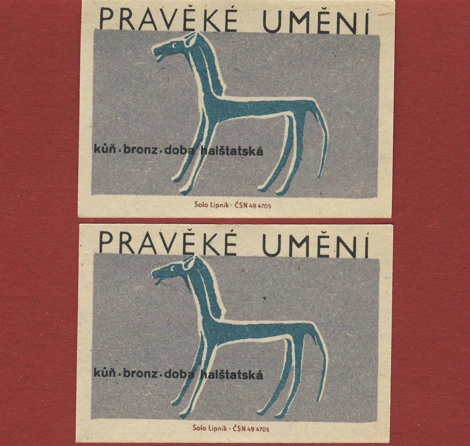 Matchbloc: Czechoslovakian matchbox art from the mid 20th century