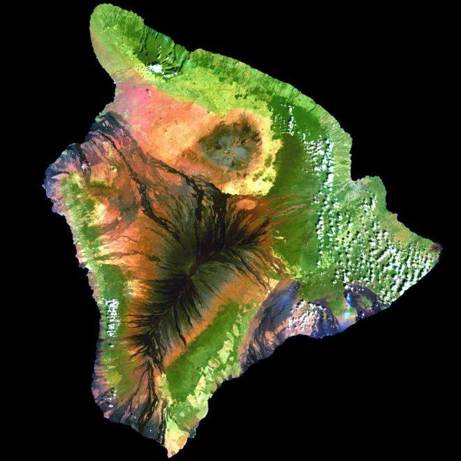 Sky-level beauty: Hawaii from above