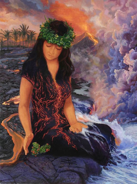 Pele: The Hawaiian Goddess of Fire