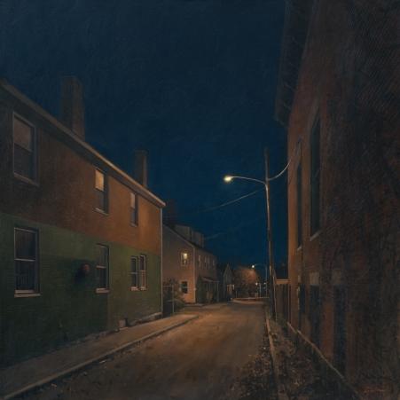 Linden Frederick: Night swimming through urban landscapes