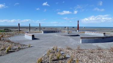 The Star Compass Atea a Rangi in Napier, New Zealand (Photo by A.Dennis)