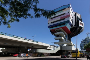 Futuristic pop-art masterpiece tower for sale in Berlin