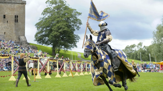An exciting jousting event takes place outside of Linlithgow Palace each year.